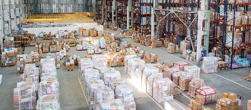 storage products warehouse