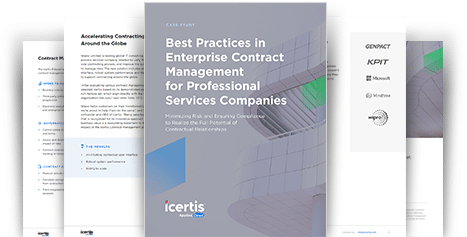 Icertis Best Practices in Professional Services eBook