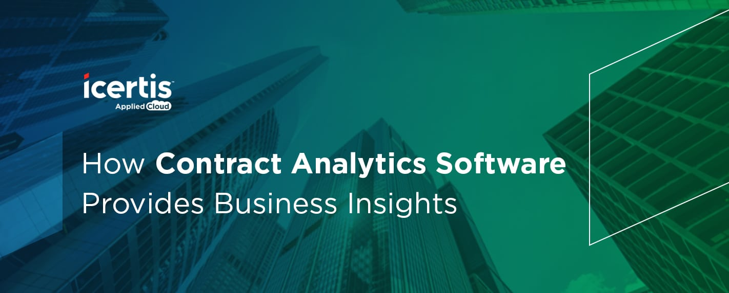 How Contract Analytics Software Provides Business Insights