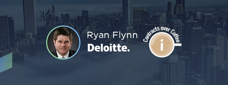 banner - Contracts over Coffee with Ryan Flynn of Deloitte