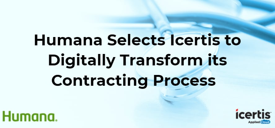 Humana Selects Icertis