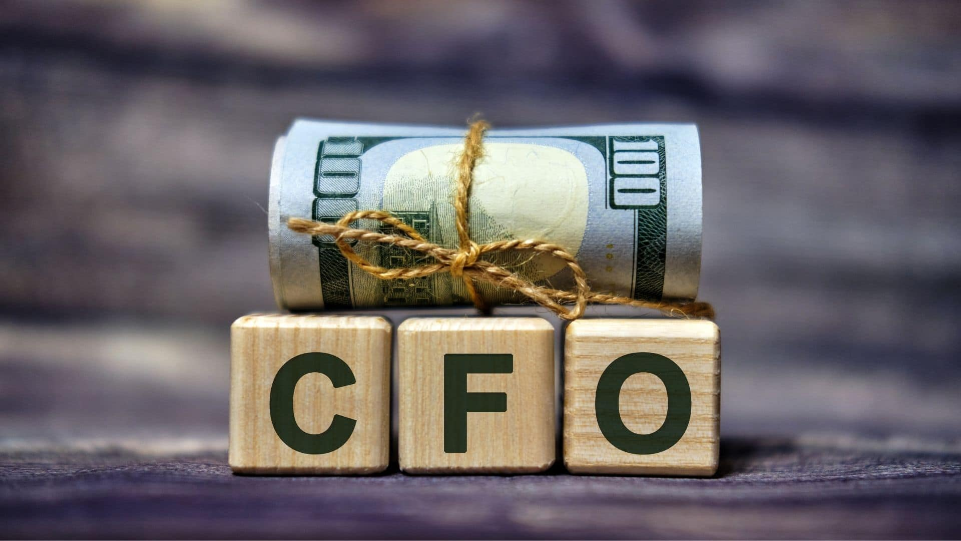 money on CFO blocks
