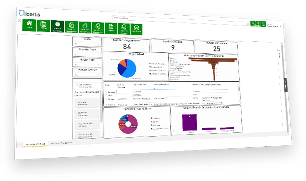 Monitor 360 Degree Performance with Icertis Contract Intelligence for Healthcare Payers